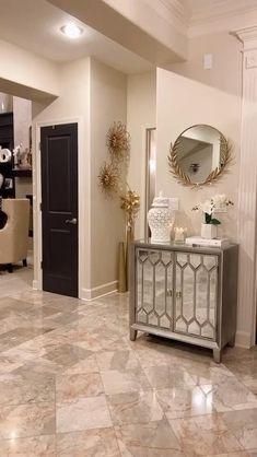 Decor Home Living Room, Elegant Living Room, Home Decor Kitchen, Room Decor, Home Room Design, Interior Design Living Room, Living Room Designs, Bathroom Interior, Home Entrance Decor