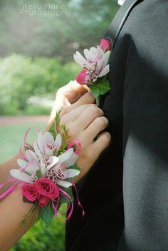 corsages para damas y damos