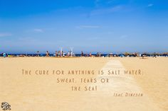 THE SEA is my cure!