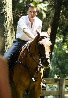 Sebastian Stan on a horse.  You're welcome.