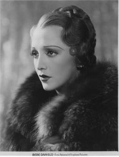 Bebe Daniels- stunning. the thing i love about this is era, the women weren't rediculously thin like the modern day 'beauty'.