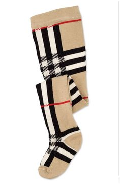 Burberry Check Tights (Infant) available at #Nordstrom