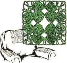 Irish Shamrock Motif - free crochet pattern