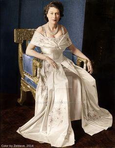 Queen Elizabeth shortly after king george VI died by ZeldaveNash ...