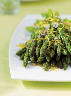 Ricardo recipe& Asparagus with Lemon Gremolata Veggie Dishes, Vegetable Recipes, Side Dishes, Ricardo Recipe, Riced Veggies, Cooking Recipes, Healthy Recipes, Meatless Recipes, Contouring