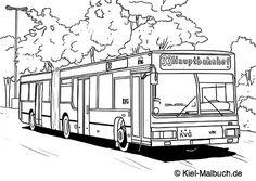 KVG Bus / Kiel-Malbuch.de
