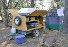 23 Ideas For Camping Trailer Diy Tear Drops Camping Trailer Diy, Kayak Trailer, Trailer Build, Diy Camping, Camping With Kids, Tent Camping, Camping Gear, Camping Hacks, Outdoor Camping
