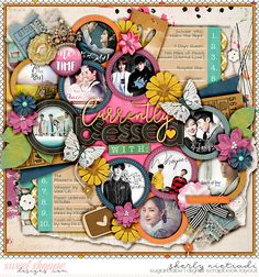 Sept 2017 SSD Bingo Challenge: #2 current obsessions Single 176 - obsessed template by Cindy Schneider  Me time by Digital Scrapbook Ingredients & Studio Basic Designs