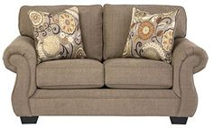 Ashley Tailya Fabric Loveseat in Barley ** Continue to the product at the image link.