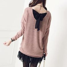Buy 'Stylementor – Tie-Back Knit Sweater' with Free International Shipping at YesStyle.com. Browse and shop for thousands of Asian fashion items from South Korea and more!
