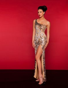 Style: #2678R SILVER-NUDE