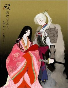 Izayoi, Baby Inuyasha, & Inu no Taisho from Inuyasha