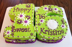 "Another ""Sweet 16"" Birthday Cake"