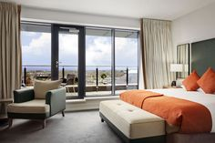 Our studio suite with private balcony overlooking the Dublin mountains - Hilton Kilmainham Dublin