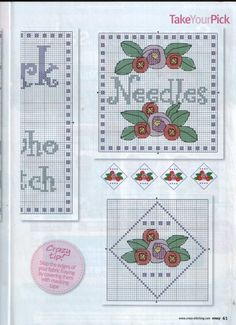 Cross Stitch Crazy 141  House work is for people who can't cross stitch 2/2