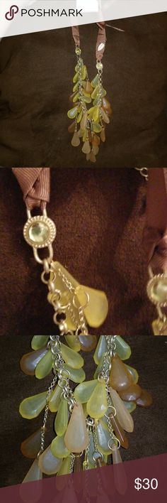 Earth tone necklace By far my favorite!! Earth tones!! NWT Coldwater Creek Jewelry Necklaces
