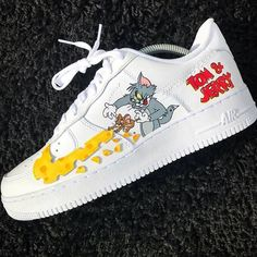 b26a30e36fd Wowwww my favourite shoes and my favourite cartoon Tom and Jerry Sneaker  Boots