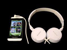The Perfect Match: BlackBerry and Sony Headphones Blackberry 10, Perfect Match, Over Ear Headphones, Sony