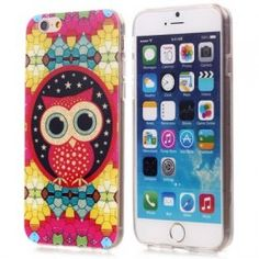 Coque de protection design chouette pour téléphone iPhone 6 – 4.7 pouces