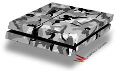 Sexy Girl Silhouette Camo Gray - Decal Style Skin fits original PS4 Gaming Console - http://androidizen.com/shop/sexy-girl-silhouette-camo-gray-decal-style-skin-fits-original-ps4-gaming-console/