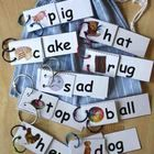 These 57 Word Family Flip Books will help students expand their reading vocabulary through understanding rhyming words.  These words are all includ...