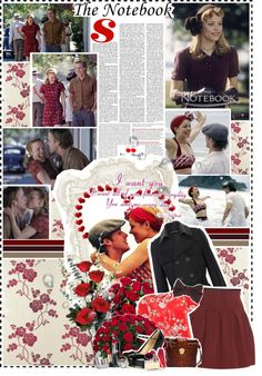 """""""The Notebook"""" by planetlipstick ❤ liked on Polyvore"""