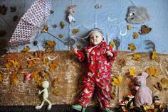 "Creative photography project ""The Bonnie Days"" Title: Höstvindar (Fall winds) ©Linda Skoog Törncrantz  #photography # Portraiture #kids #art #fun #creative #D.I.Y #babies"