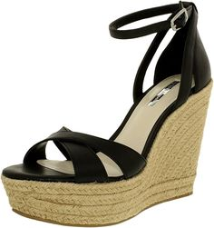 Bcbgeneration Women's Holly Leather Ankle-High Leather Sandal -- Additional details at the pin image, click it  : Platform sandals