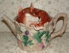 Fitz & Floyd Teapot - Reynard - Fox