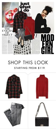 """""""No Ordinary Girl"""" by sissydoll ❤ liked on Polyvore featuring MANGO, Loro Piana and Citizens of Humanity"""