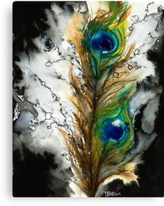Choose your favorite peacock watercolor paintings from millions of available designs. All peacock watercolor paintings ship within 48 hours and include a money-back guarantee. Watercolor Peacock, Peacock Painting, Peacock Art, Watercolor Paintings, Tattoo Watercolor, Female Peacock, Peacock Canvas, Green Peacock, Peacock Colors