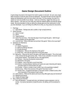 Game design document example | GDD Help | Pinterest | Game, Design ...
