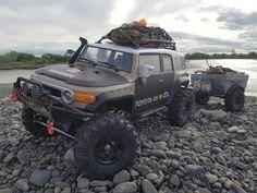 1 10 Scale, Toyota Fj Cruiser, Rc Cars, Monet, Monster Trucks, Vehicles, Rolling Stock, Vehicle