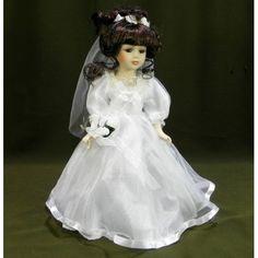 Porcelánová bábika nevesta Victorian, Dresses, Fashion, Gowns, Moda, La Mode, Dress, Fasion, Day Dresses