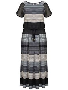 online shopping for Chicwe Women's Plus Size Printed Maxi Dress Raglan Sleeves With Waist Belt from top store. See new offer for Chicwe Women's Plus Size Printed Maxi Dress Raglan Sleeves With Waist Belt Maxi Dress With Sleeves, Belted Dress, Short Sleeve Dresses, Short Sleeves, Casual Dresses For Women, Dresses For Work, Clothes For Women, Plus Size Womens Clothing, Plus Size Fashion