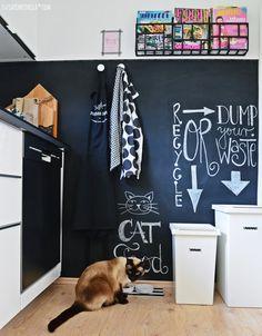 DIY tafellack wand in unserer selbstgebauten IKEA küche | luzia pimpinella