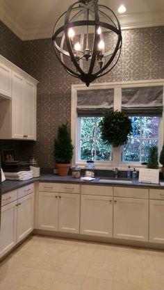 Home for the Holidays Designer Showhouse laundry room - LightsOnline Blog