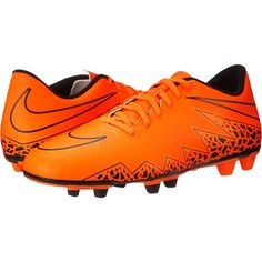 fd02b7873 Nike Hypervenom Phade II FG (Total Orange Black Total Orange) Men s. Orange  ShoesBlack ShoesLace Up ShoesMen s ShoesSoccer ...
