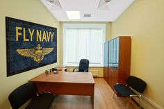 #FlyNavy Logo Rug Looks great on the #USNavy wall