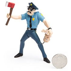 ThinkGeek :: Axe Cop Action Figures