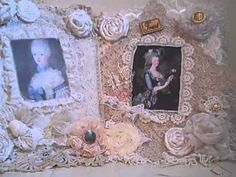 Marie Antionette Beautiful Lace Quilt Album! - YouTube