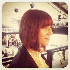 @rhonorv / @stayfade & her fab bob by Jamál at our #mbfw salon!  #tresmbfw #tresemme #hair @Mercedes-Benz Fashion Week #FashionWeek #NewYork #NYC