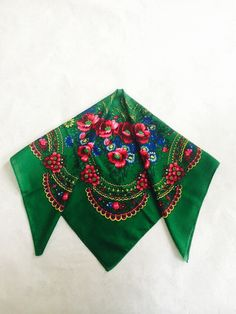 russian shawl 3 Vintage Wool ShawlRussian Scarf от PRESENTUA