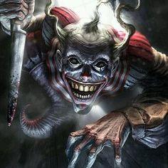 Beware. #clowntruth #clownhistory #clown #clowns #killerclown #scaryclown #evil