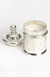 Himalayan Trading Post Silver Candy Jar Candle