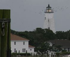 Ocracoke Lighthouse #lighthouse #Ocracoke