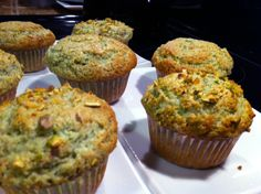 This is for butter lovers.: Whole Wheat Pistachio Muffins