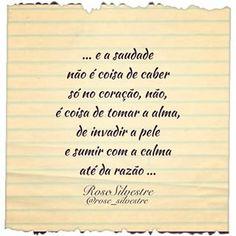 Saudade... Boa noite! #poesiatododia #poesias #poemas #poetas #escritores #versos #frases #reflexões #pensamentos #sentimentos #amor #alma #coração #saudade #boanoite