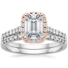 18K White Gold Serenity Diamond Ring (1/4 ct. tw.) from Brilliant Earth