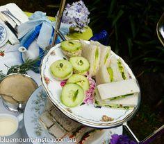 High Tea treats for a private high tea for two, www.bluemountinai..., Blue Mountains Australia. Aussie High Tea.
